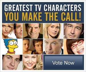 top tv shows vote for your favorite tv characters
